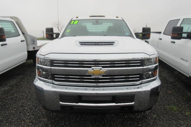 2018 Silverado 3500 Crew Cab DRW 4x4,  Truck Craft Platform Body #B12905 - photo 4