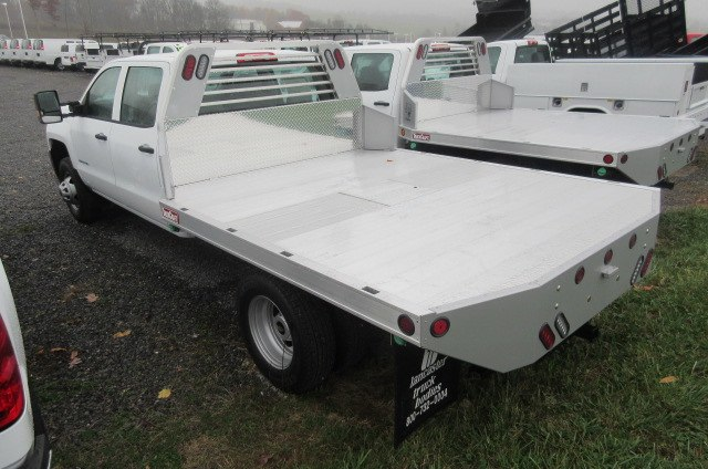 2018 Silverado 3500 Crew Cab DRW 4x4,  Truck Craft Platform Body #B12905 - photo 2