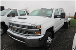 2018 Silverado 3500 Crew Cab DRW 4x4,  Truck Craft Platform Body #B12905 - photo 1