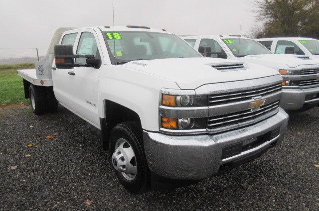 2018 Silverado 3500 Crew Cab DRW 4x4,  Truck Craft Platform Body #B12906 - photo 3