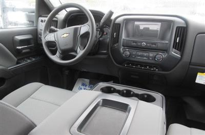 2018 Silverado 3500 Crew Cab DRW 4x4, Reading Redi-Dek Platform Body #B12908 - photo 14