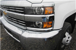 2018 Silverado 3500 Crew Cab DRW 4x4, Reading Redi-Dek Platform Body #B12908 - photo 4