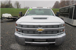 2018 Silverado 3500 Crew Cab DRW 4x4, Reading Redi-Dek Platform Body #B12933 - photo 3