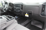 2018 Silverado 3500 Crew Cab DRW 4x4, Reading Redi-Dek Platform Body #B12933 - photo 12