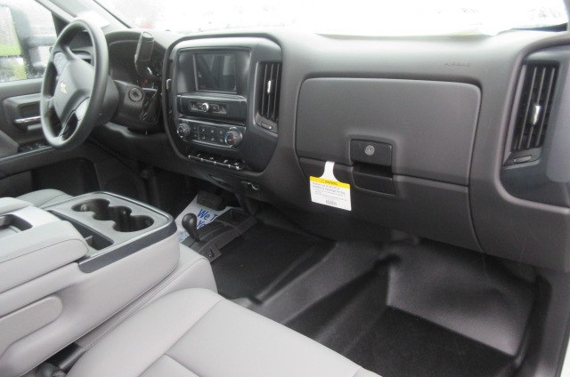 2018 Silverado 3500 Crew Cab DRW 4x4,  Reading Redi-Dek Platform Body #B12934 - photo 13
