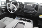 2018 Silverado 3500 Crew Cab DRW 4x4,  Reading Redi-Dek Platform Body #B12934 - photo 15