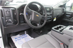 2018 Silverado 3500 Crew Cab DRW 4x4,  Reading Redi-Dek Platform Body #B12934 - photo 17
