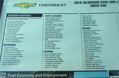 2018 Silverado 2500 Crew Cab 4x4, Pickup #B13021 - photo 34