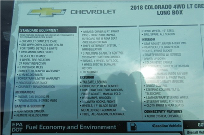 2018 Colorado Crew Cab 4x4, Pickup #B13203 - photo 14