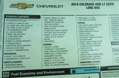 2018 Colorado Crew Cab 4x4,  Pickup #B13214 - photo 26