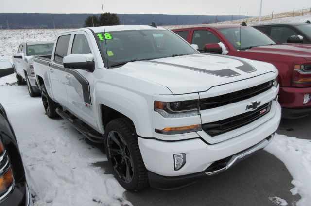 2018 Silverado 1500 Crew Cab 4x4,  Pickup #B13264 - photo 3