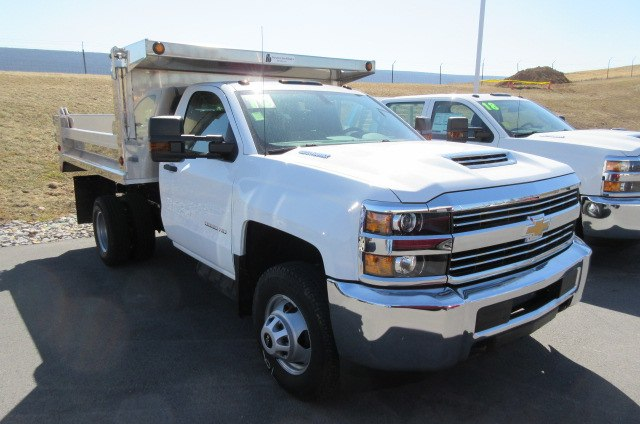 2018 Silverado 3500 Regular Cab DRW 4x4,  Godwin Manufacturing Co. Dump Body #B13298 - photo 3