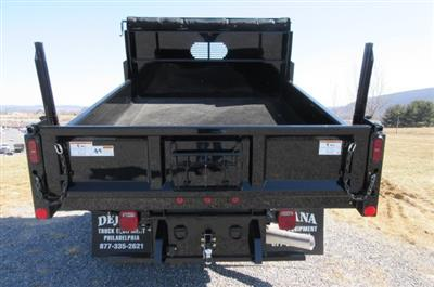 2018 Silverado 3500 Crew Cab DRW 4x4,  Rugby Eliminator LP Steel Dump Body #B13304 - photo 10