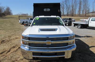 2018 Silverado 3500 Crew Cab DRW 4x4,  Rugby Eliminator LP Steel Dump Body #B13304 - photo 4