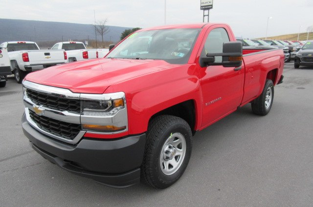 2018 Silverado 1500 Regular Cab 4x4, Pickup #B13352 - photo 1