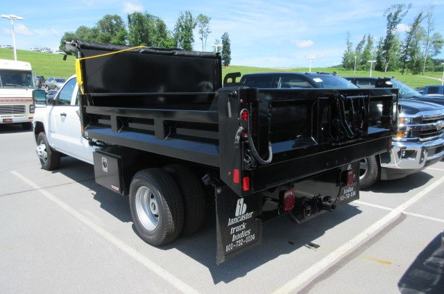 2018 Silverado 3500 Crew Cab DRW 4x4,  Swampy Hollow Truck Bodies Dump Body #B13901 - photo 2