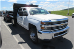 2018 Silverado 3500 Crew Cab DRW 4x4,  Swampy Hollow Truck Bodies Dump Body #B13901 - photo 3