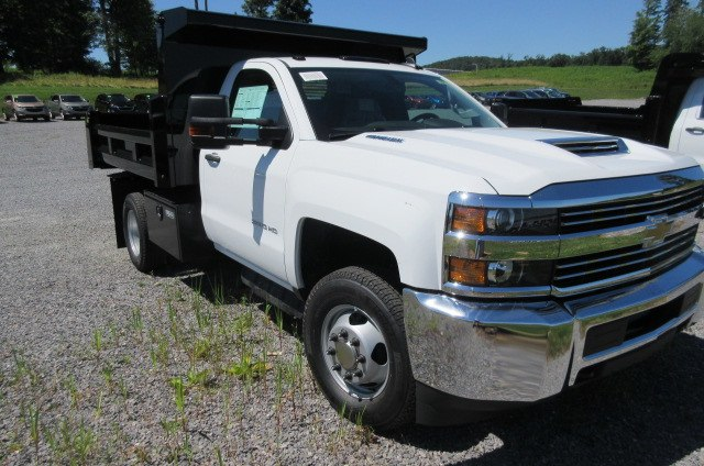 2018 Silverado 3500 Regular Cab DRW 4x4,  Rugby Dump Body #B14099 - photo 3