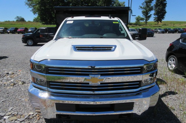 2018 Silverado 3500 Regular Cab DRW 4x4,  Rugby Dump Body #B14099 - photo 4