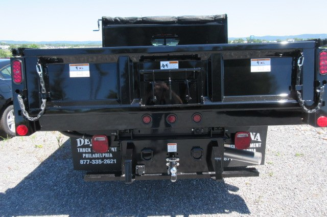 2018 Silverado 3500 Regular Cab DRW 4x4,  Rugby Dump Body #B14099 - photo 8