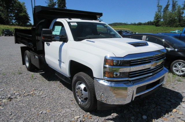 2018 Silverado 3500 Regular Cab DRW 4x4,  Rugby Dump Body #B14100 - photo 3