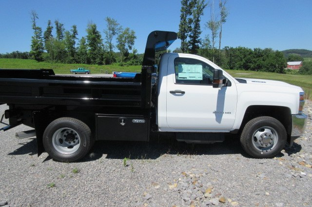 2018 Silverado 3500 Regular Cab DRW 4x4,  Rugby Dump Body #B14100 - photo 11