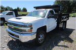 2018 Silverado 3500 Regular Cab DRW 4x4,  Rugby Dump Body #B14100 - photo 1