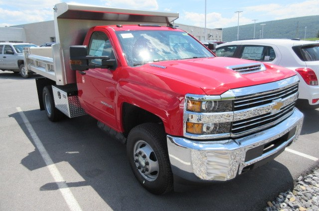 2018 Silverado 3500 Regular Cab DRW 4x4,  Rugby Dump Body #B14118 - photo 3