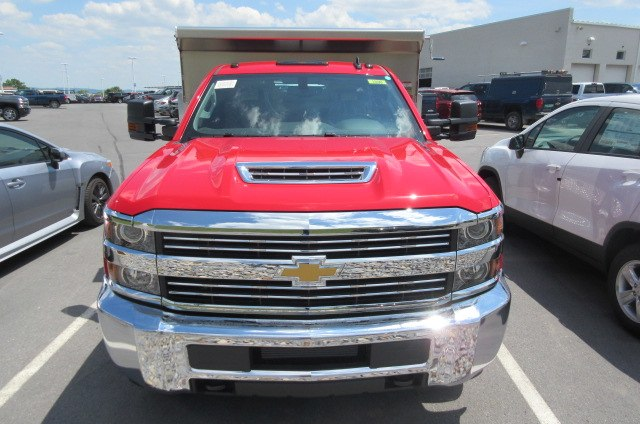 2018 Silverado 3500 Regular Cab DRW 4x4,  Rugby Dump Body #B14118 - photo 4