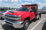 2018 Silverado 3500 Regular Cab DRW 4x4,  Rugby Dump Body #B14118 - photo 1