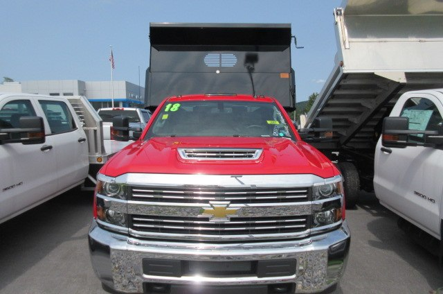 2018 Silverado 3500 Regular Cab DRW 4x4,  Rugby Dump Body #B14161 - photo 2