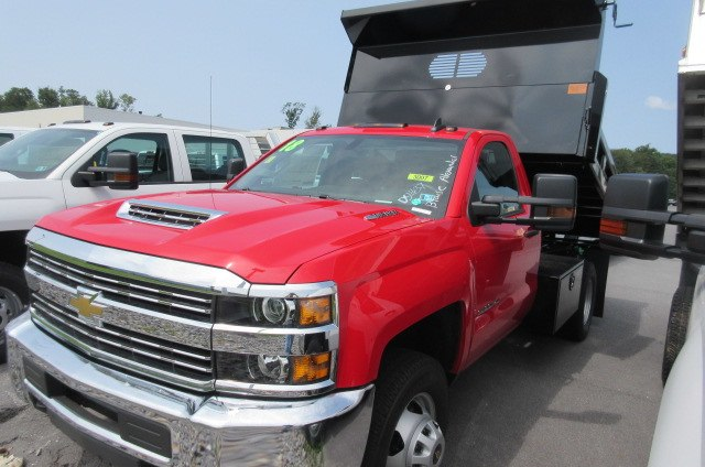 2018 Silverado 3500 Regular Cab DRW 4x4,  Rugby Dump Body #B14161 - photo 4