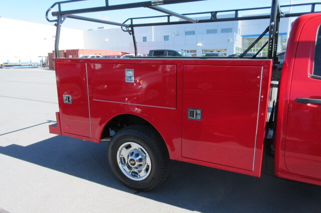 2019 Silverado 2500 Double Cab 4x4,  Warner Select Pro Service Body #B15331 - photo 11