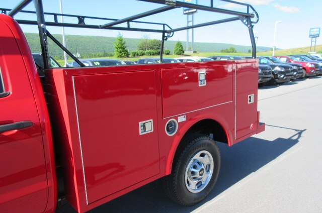 2019 Silverado 2500 Double Cab 4x4,  Warner Select Pro Service Body #B15331 - photo 7