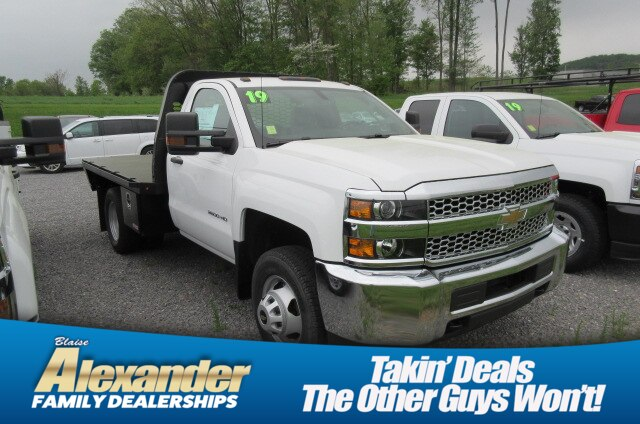2019 Silverado 3500 Regular Cab DRW 4x4,  Knapheide Platform Body #B15332 - photo 1