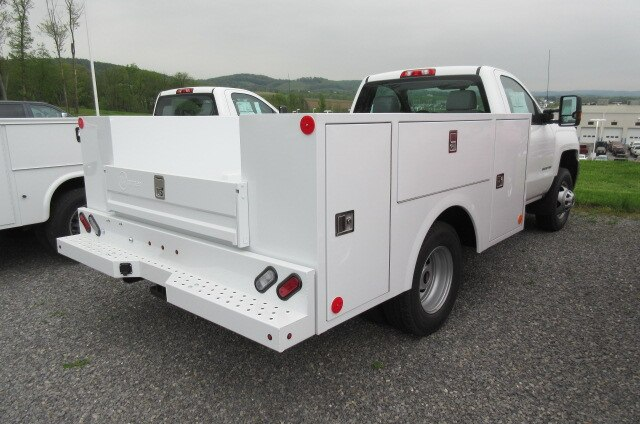 2019 Silverado 3500 Regular Cab DRW 4x4,  Warner Service Body #B15471 - photo 1