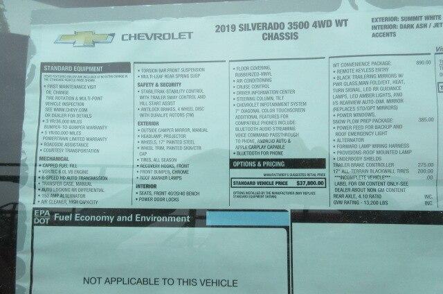 2019 Silverado 3500 Regular Cab DRW 4x4,  Warner Select Pro Service Body #B15471 - photo 15