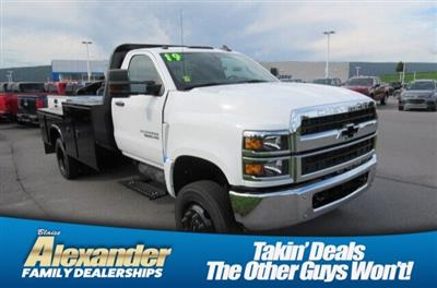 2019 Silverado 5500 Regular Cab DRW 4x4, Knapheide PGND Gooseneck Platform Body #B16087 - photo 1