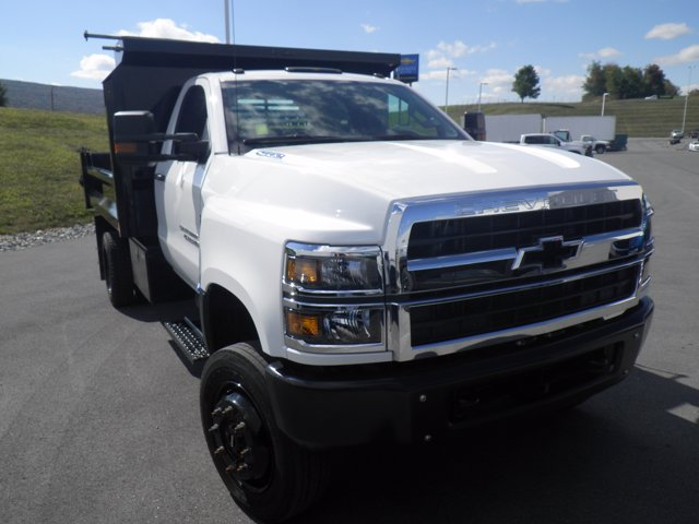 2019 Silverado Medium Duty Regular Cab DRW 4x4,  Crysteel Dump Body #B16199 - photo 1