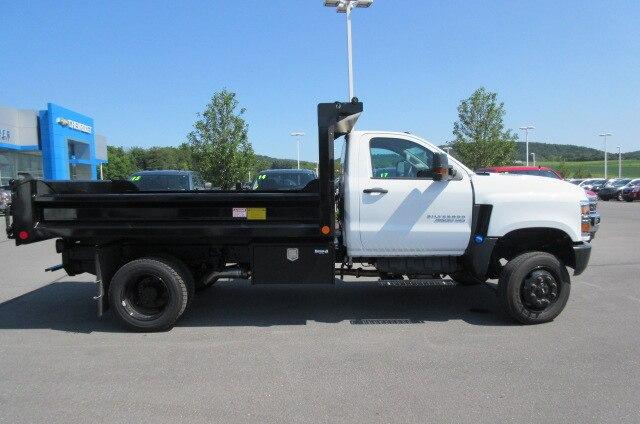 2019 Silverado Medium Duty Regular Cab DRW 4x4,  Crysteel E-Tipper Dump Body #B16199 - photo 12