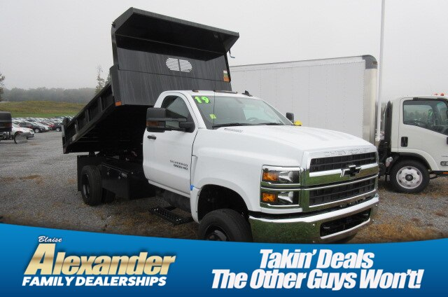 2019 Silverado Medium Duty Regular Cab DRW 4x4,  Rugby Dump Body #B16307 - photo 1