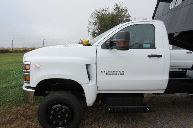 2019 Silverado Medium Duty Regular Cab DRW 4x4,  Rugby Eliminator LP Steel Dump Body #B16307 - photo 7