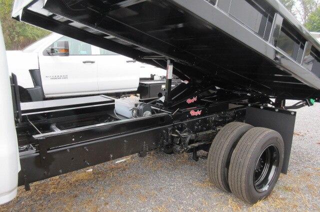 2019 Silverado Medium Duty Regular Cab DRW 4x4,  Rugby Eliminator LP Steel Dump Body #B16307 - photo 8