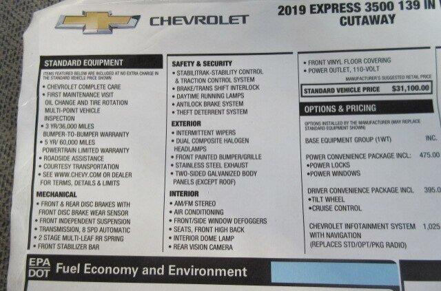 2019 Express 3500 4x2, Knapheide KUV Service Utility Van #B16505 - photo 11