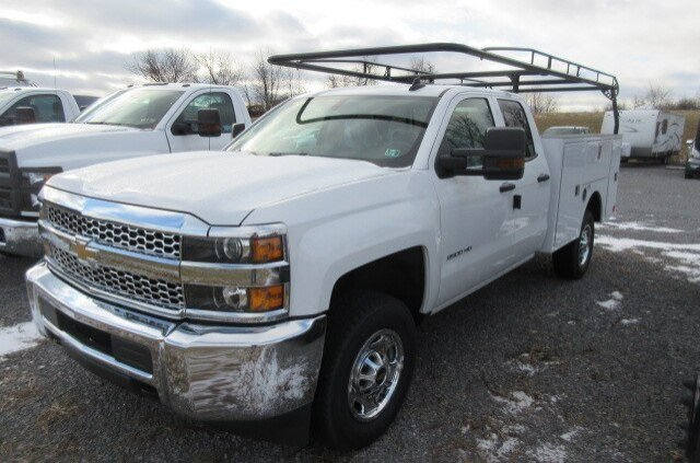 2019 Silverado 2500 Double Cab 4x4, Warner Select Pro Service Body #B16586 - photo 4
