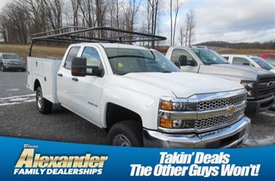 2019 Silverado 2500 Double Cab 4x4, Warner Select Pro Service Body #B16586 - photo 1