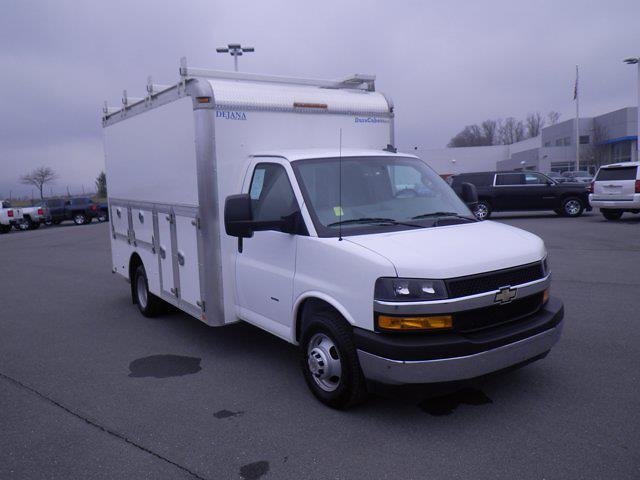 2019 Chevrolet Express 3500 4x2, Dejana Service Utility Van #B18497A - photo 1