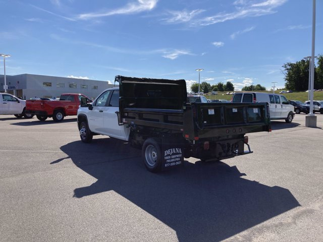 2020 Chevrolet Silverado 3500 Crew Cab DRW 4x4, Rugby Dump Body #B17673 - photo 1