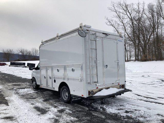 2021 Chevrolet Express 3500 4x2, Dejana Service Utility Van #B18582 - photo 1