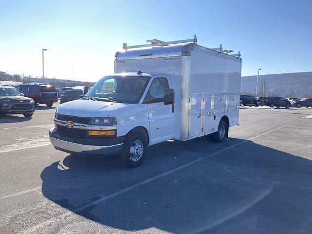 2021 Chevrolet Express 3500 4x2, Dejana Service Utility Van #B18673 - photo 1